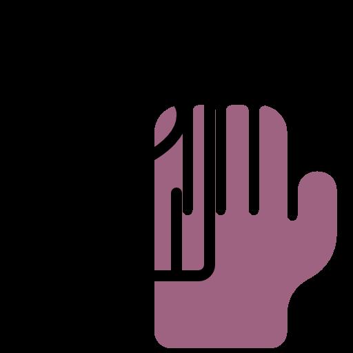 icona con due mani sovrapposte